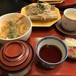 60624662 - 天丼とお蕎麦のセット