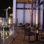 銀座の金沢 - 銀座の街を見下ろすテラス席