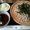 芳流 - 料理写真:天ざる(おそばのみ撮影)