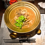 麺屋武蔵 武骨 - 熊武骨 (ご飯・山椒付き)
