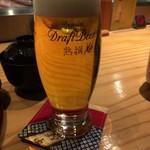 安芸茶寮 - 生ビール