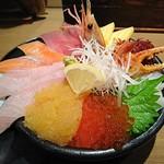 どんぶり茶屋 - 大漁丼(1980円)