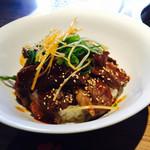 やみつき - やみつき丼ෆ̈1000円 +肉増しෆ̈ 300円