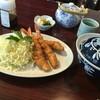 うな藤 - 料理写真:エビフライライス1188円