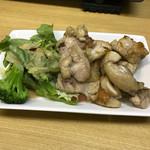 酒楽 - 料理写真:とりももステーキ260円(税込)