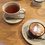 60631501 - 信楽高原紅茶&平飼い卵のクリームブリュレ 相性抜群(^0^) 2016/12/25