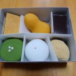 空也 - 和菓子(1460円)