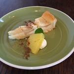 レコンパンス  - デザート(リンゴのタルト)