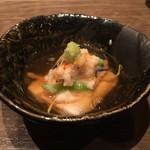 月ひめ - 太刀魚のおろし蒸し