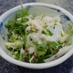 焼肉割烹 松阪 - サラダ