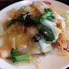 覇龍 - 料理写真:えび焼きそば※ホテル中華レベルだぉ!美味♪