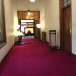 メインダイニングルーム 三笠 - 三笠へ向かう廊下