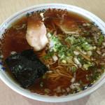 ラーメン まるひら - ラーメン まるひら(北海道釧路市浦見)ラーメン 醤油 650円