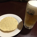 60639306 - パパド・生ビール