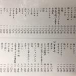てっちゃん - 2016.12.24  メニュー