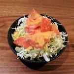 60642423 - ランチ:(せいろそば )蕎麦前サラダ
