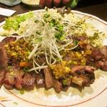横濱酒房 銀の鍵亭 - ステーキ&高菜飯