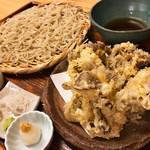 60644989 - 舞茸の天ぷら。サクサクで軽い