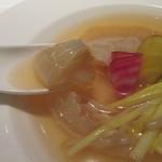カントニーズ 燕 ケン タカセ - フカヒレの食感を楽しむ