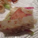 カントニーズ 燕 ケン タカセ - 前菜より「海鮮の和え物」