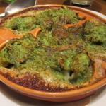 60647959 - ツブ貝のオーブン焼き エスカルゴバター