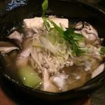 鮭ちゃづけ - 海鮮寄せ鍋