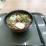 60648318 - 山菜辛味噌蕎麦560円!