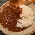 ぎをん 遠藤 - 〆の蟹カレー