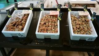 ますよね - 値段3種類の山陰産のせいこ蟹