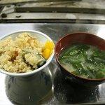 かき焼 うちの海 - 牡蠣ご飯