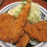 とんかつ浜勝 - 浜勝スペシャル定食 1580円