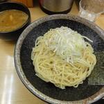 つけ麺 渡辺 - つけ麺(中太麺(並)・カレー味MIX)