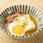 旬鮮酒場 天狗 - 天狗名物料理「肉豆腐」は創業以来の伝統の味として、お客様に長くご好評を頂いております。