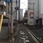GARAM - この路地にございます。