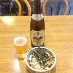 60655680 - ビールと鳥わさ(16.12.30)