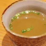 炭火焼鳥 そかろ - 鶏スープ