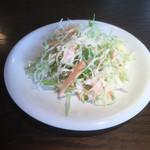 カレー・スリランカ料理 スジャータ - セットのサラダ