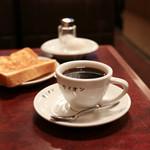 コーヒー専門店 ライオン - モーニング☆