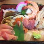 吾作鮨 - 料理写真:海鮮重 ¥650