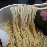 中華そば 一信  - 麺リフト