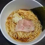中華そば 一信  - 料理写真:和風醤油700円
