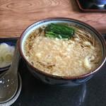 直利庵 三浦屋 - 「花そば」(570円)