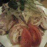 しんざと - 島ベーコンのサラダ