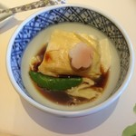 梅の花 - 料理写真:湯豆腐♡