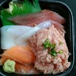 まぁーさん海鮮 丼丸 - 料理写真:どんまる丼