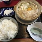 まんぷく食堂 - 料理写真:ホルモン鍋(850円)