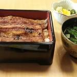 八沢川 - +200円で肝吸いに変更できます。