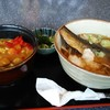 Okudatoukyoutei - 料理写真:ニシン蕎麦とミニカレー丼セット。