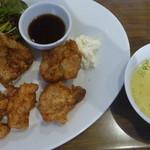 鶏×バル HINAMARU - からあげ南蛮コンボ 税込700円