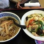 台湾料理 福源 - 中華丼セット食べきれなかった。